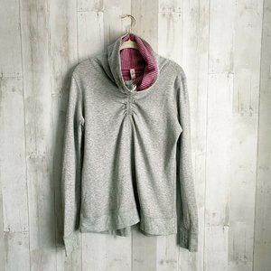 [Lululemon] In A Cinch Mock Neck Sweatshirt Top